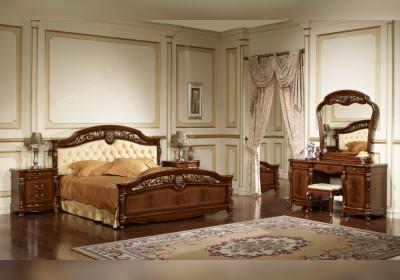 Спальня Afina Орех с золотом