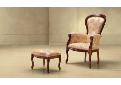 Кресло с пуфом Filippo